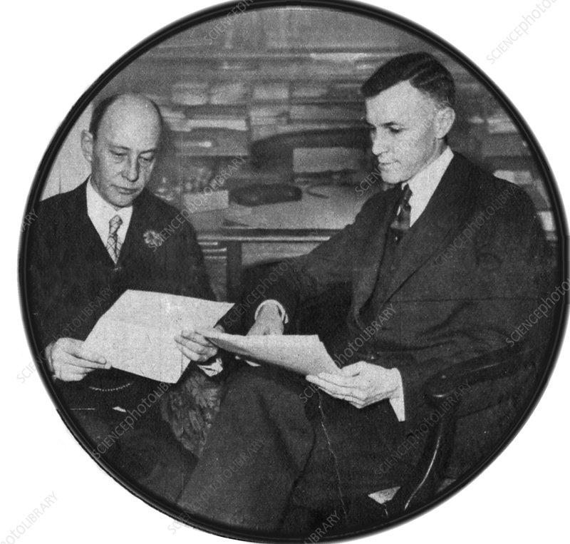 Drs. Minot and Murphy, 1926 Nobel Prize