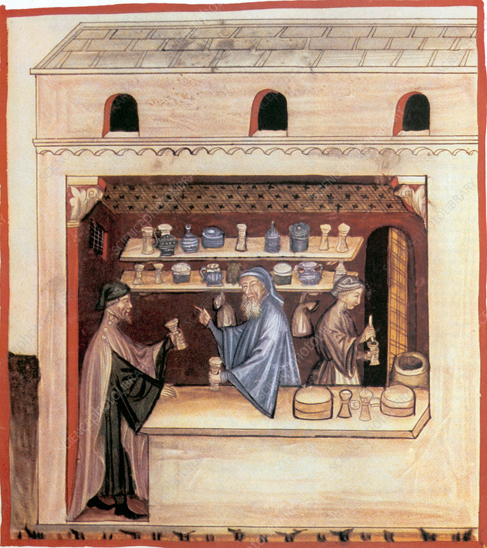 14th Century Italian Pharmacy