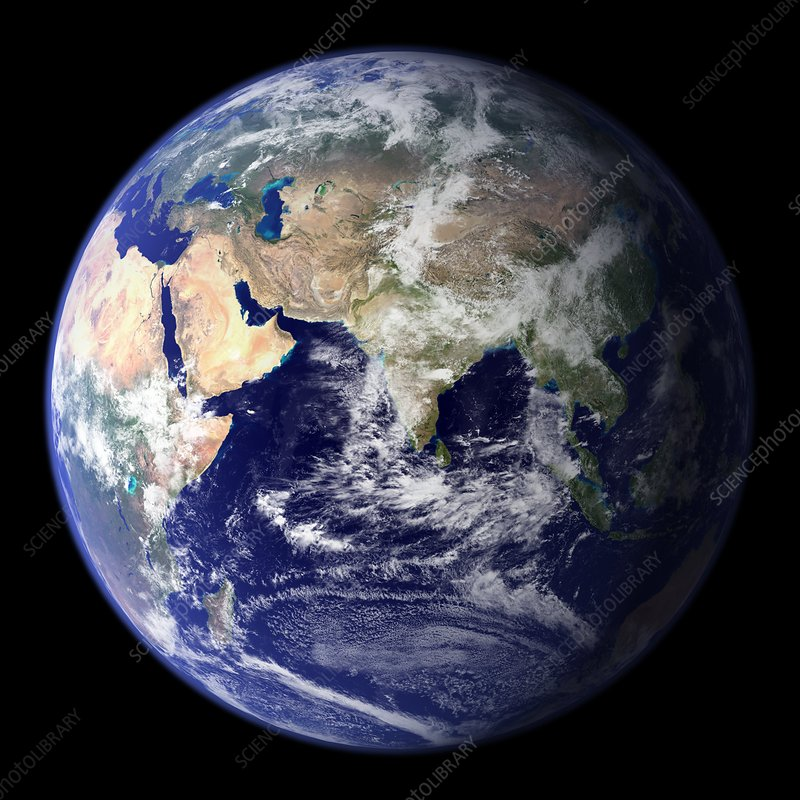 Blue Marble image of Earth (2010)