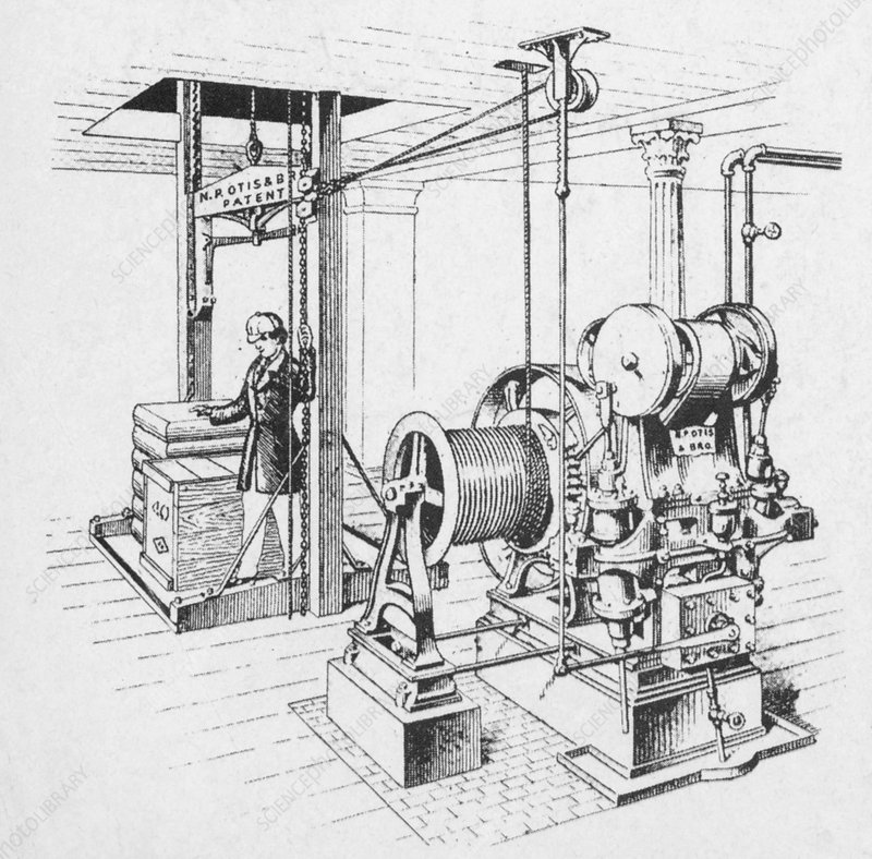 Double Oscillating Steam Engine Stock Image C004 7291