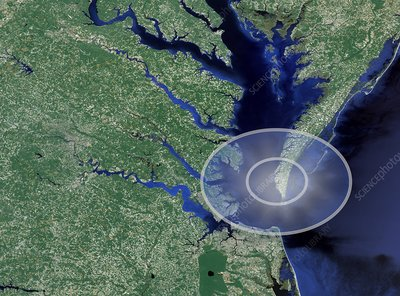 Chesapeake Bay impact site