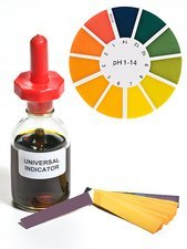 Universal indicator solution and paper