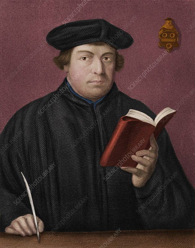 Martin Luther, German theologian