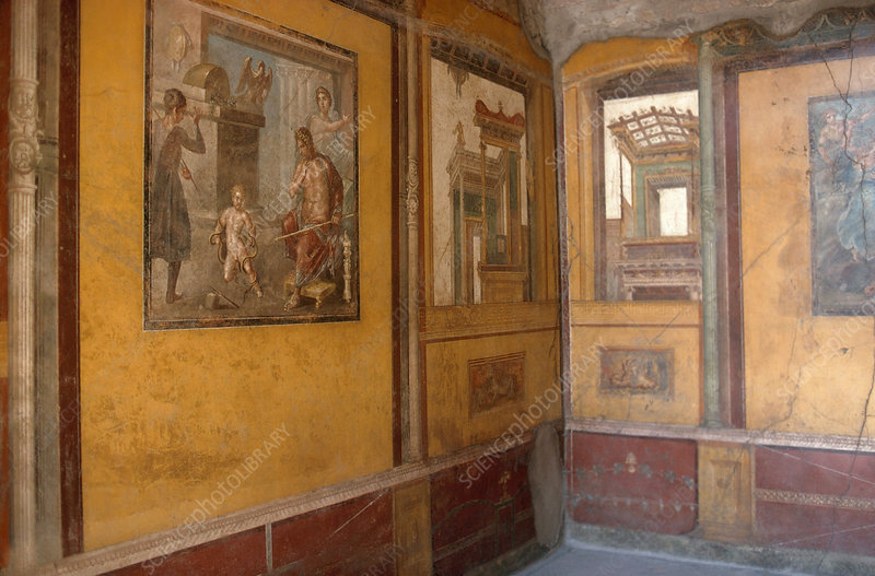 Frescoes From Pompeii