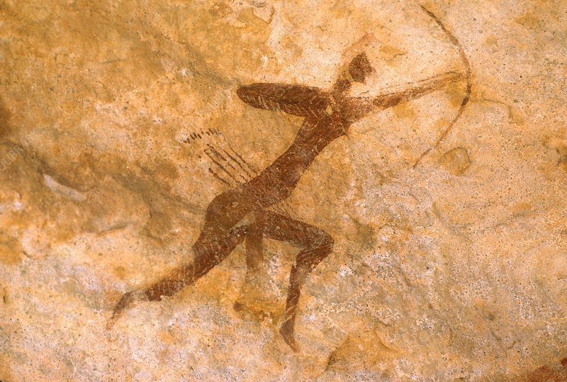 Cave Painting, South Algeria