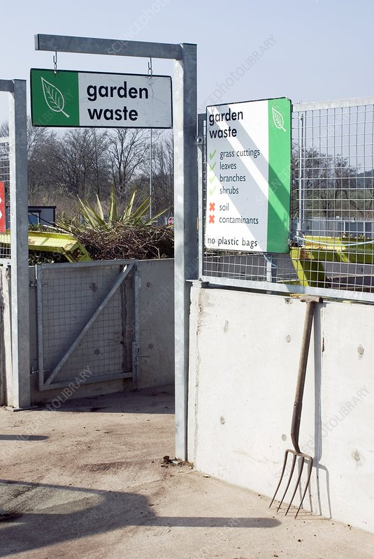 Recycling centre - Stock Image C004/8450