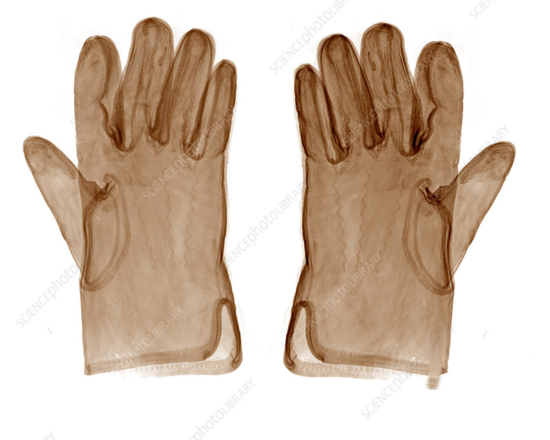 Leather Gloves X-Ray