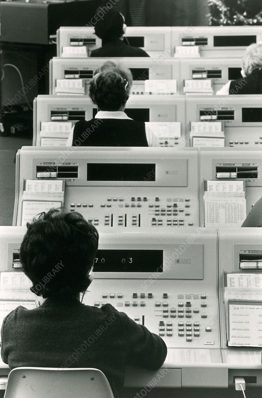 Telephone Operators, Early Computers