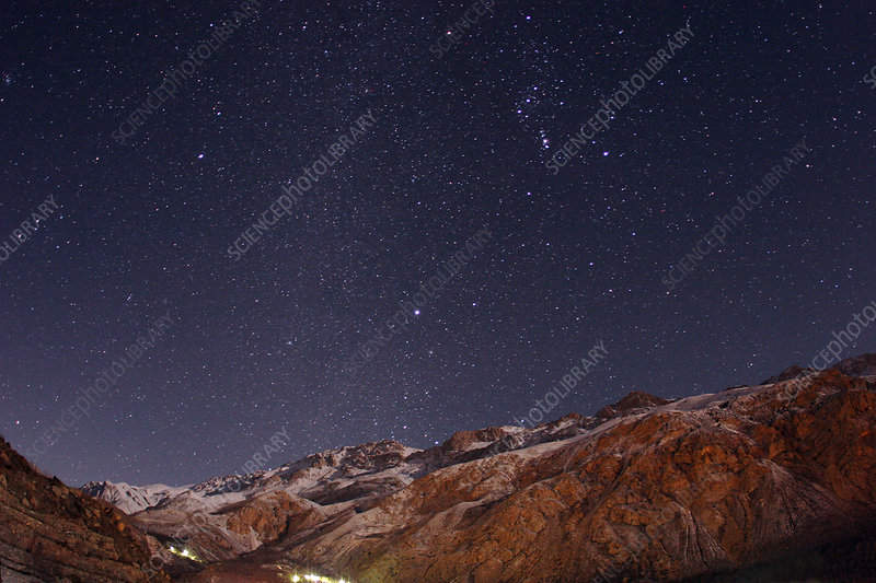 Night Sky over Alborz Mountains (2 of 2)
