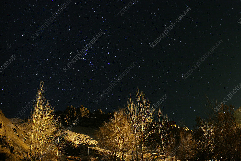 Night Sky over Zagros Mountains (2 of 2)