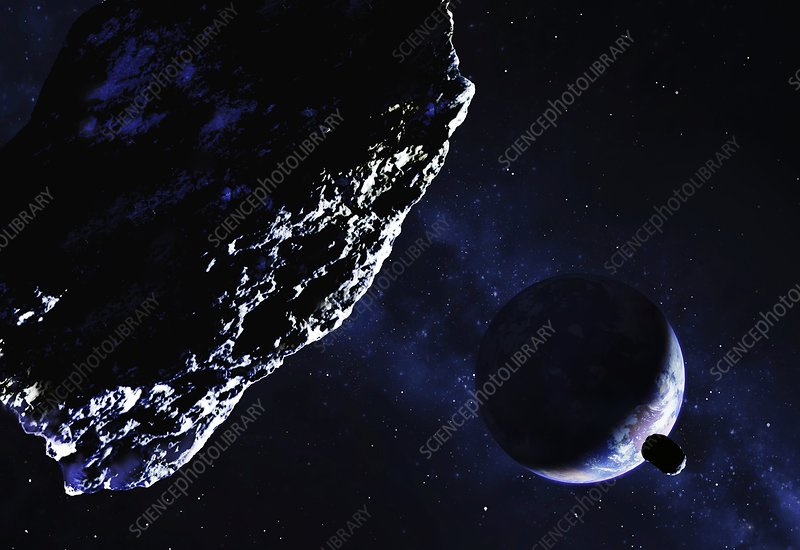 planet killer asteroid approaching - photo #2