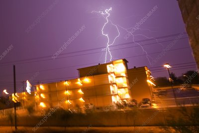 Electrical storm, USA