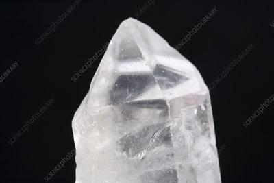 Quartz crystal - Stock Image - C005/5799 - Science Photo ...Quartz Crystal Science