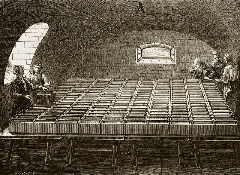 Royal Institution electric battery, 1813