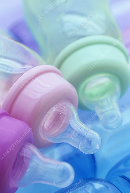 Plastic baby bottles, polycarbonate