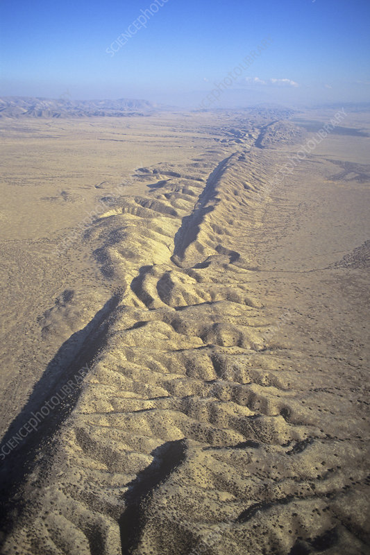 San Andreas Fault and Rift Zone