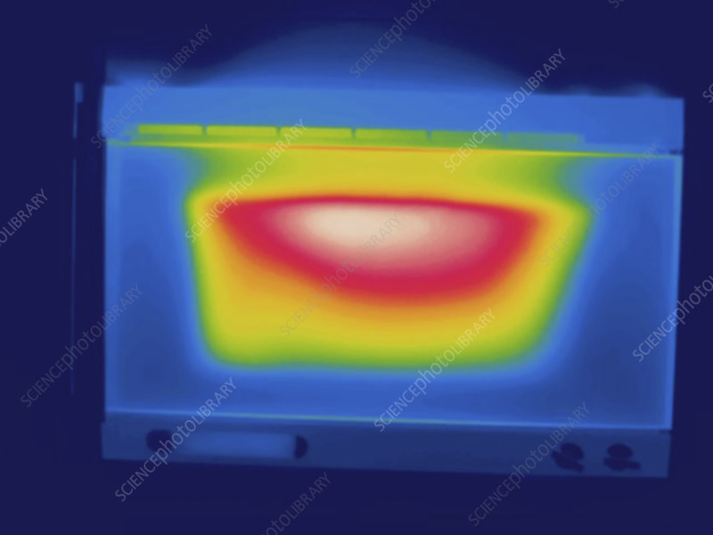 Thermogram, Oven, temperature variation