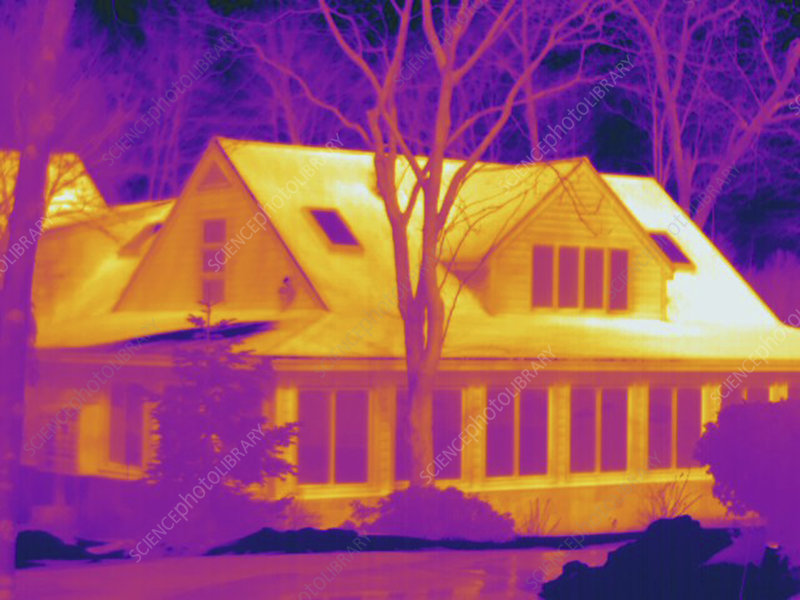 Thermogram, Home cold day, temp variation