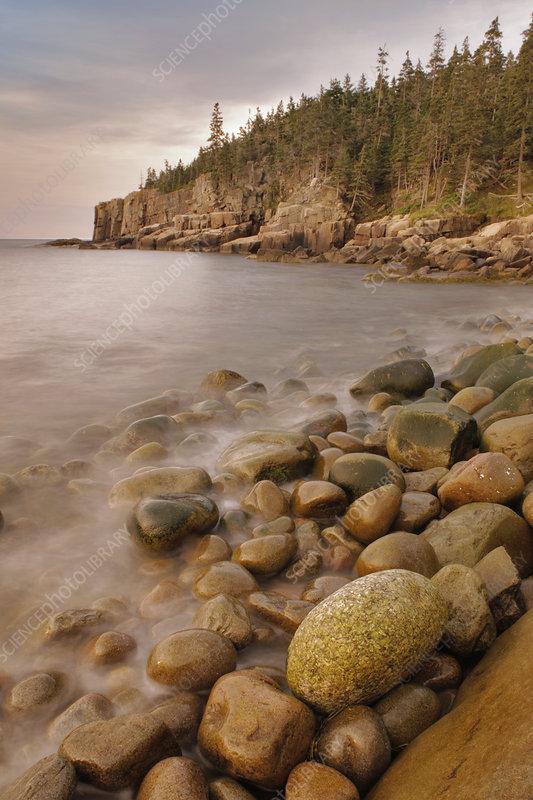 Dawn at Otter Cliffs, Acadia, Maine