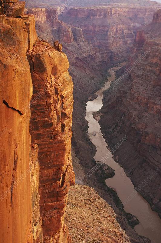 Colorado River through Grand Canyon