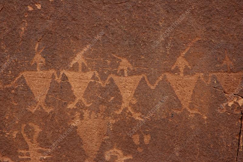 Rock art, Utah