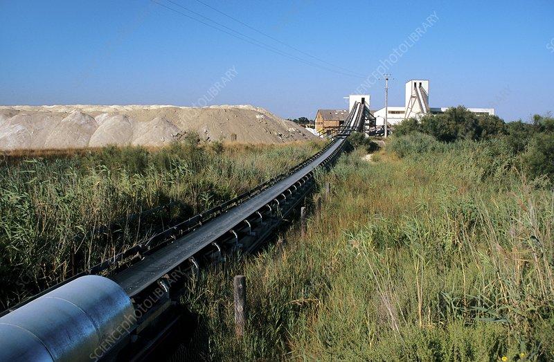 Salt works, Camargue, France