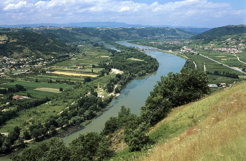 Middle Rhone Valley, France