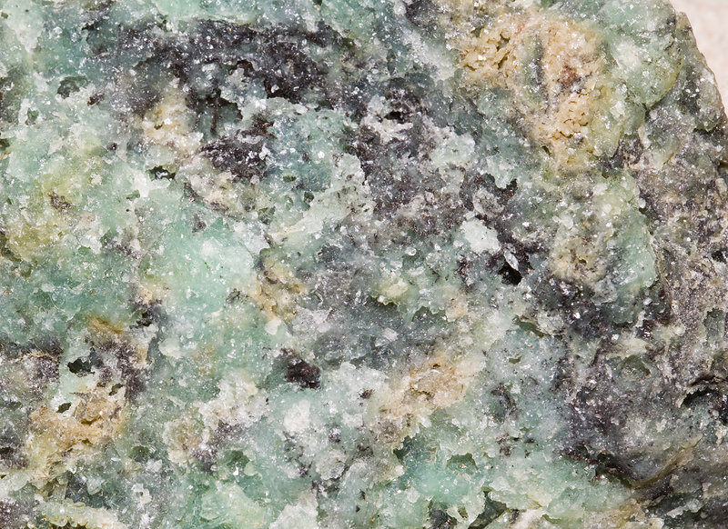 Close-up of Chrysoprase, Newfane, Vermont