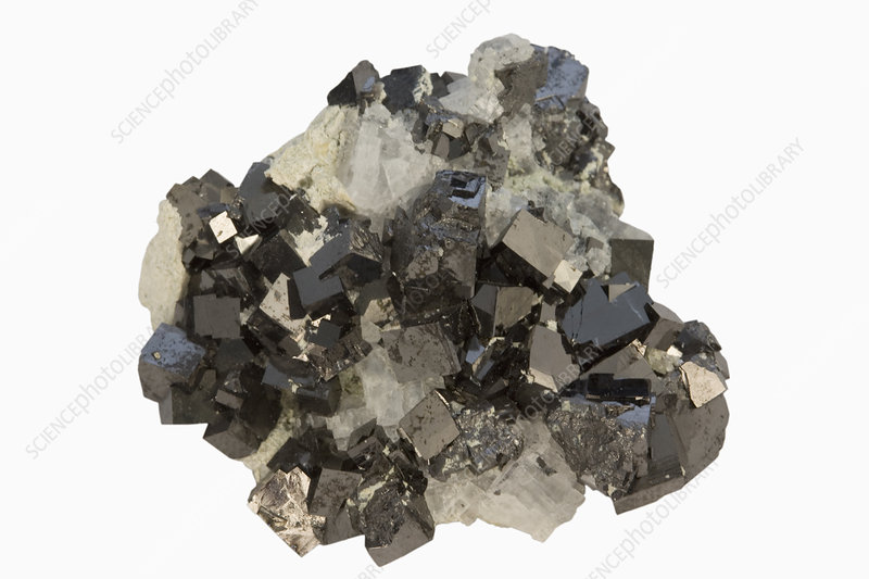 Magnetite crystals