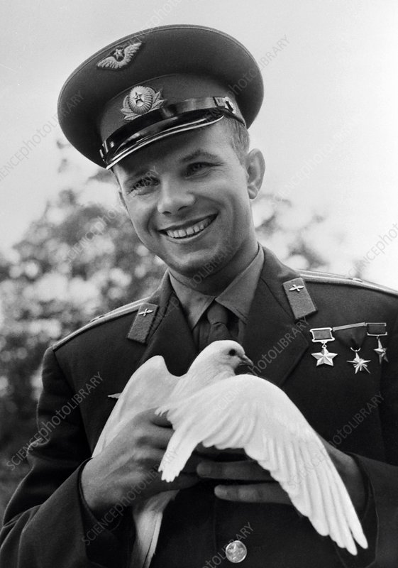Gagarin post-flight tour, Bulgaria, 1961