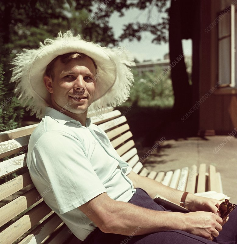 Gagarin post-flight holiday, June 1961