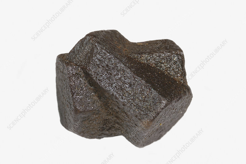 Staurolite with twin crystals