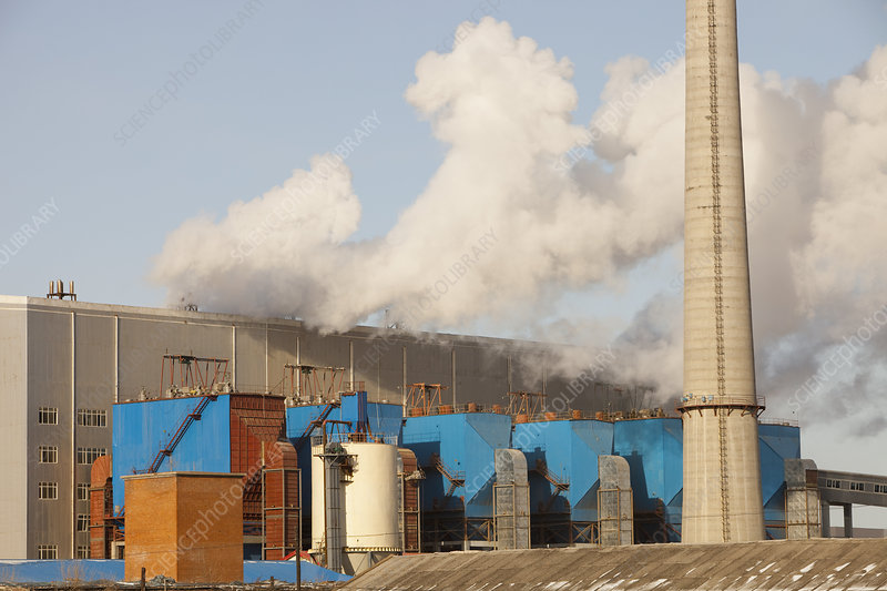 Coal fired power plant, China
