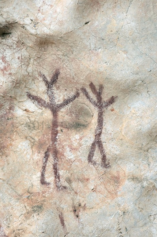 Rock painting, Timor-Leste