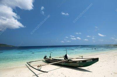 Traditional fishing boat, Timor -Leste