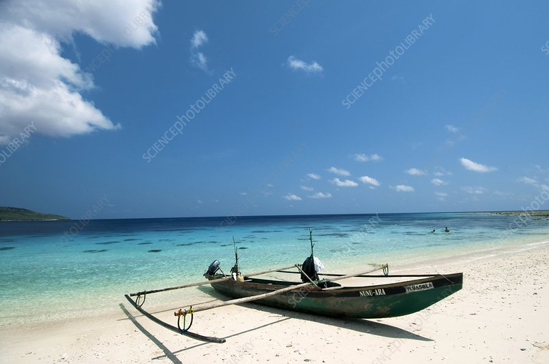 Traditional fishing boat, Timor -Leste