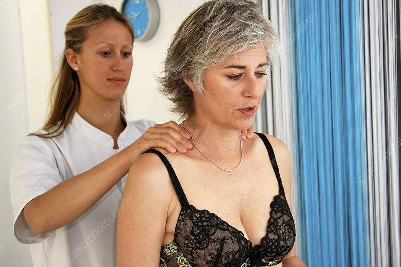Osteopathy woman