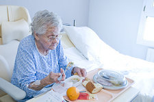 Hospital diet for the elderly