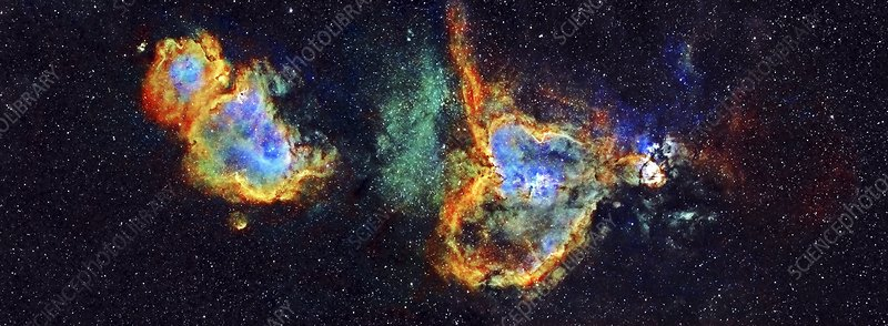 Heart and Soul nebulae