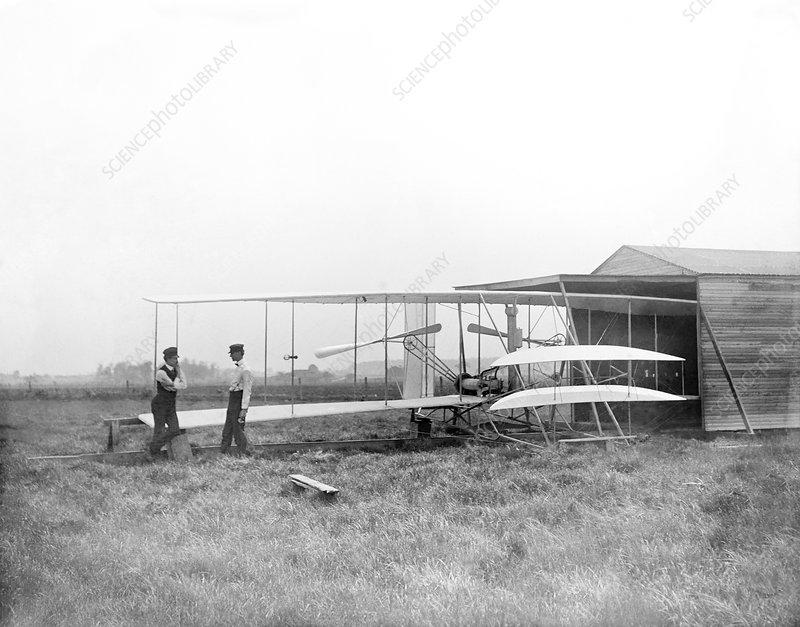 Wright Flyer II, May 1904 - Stock Image - C006/4322