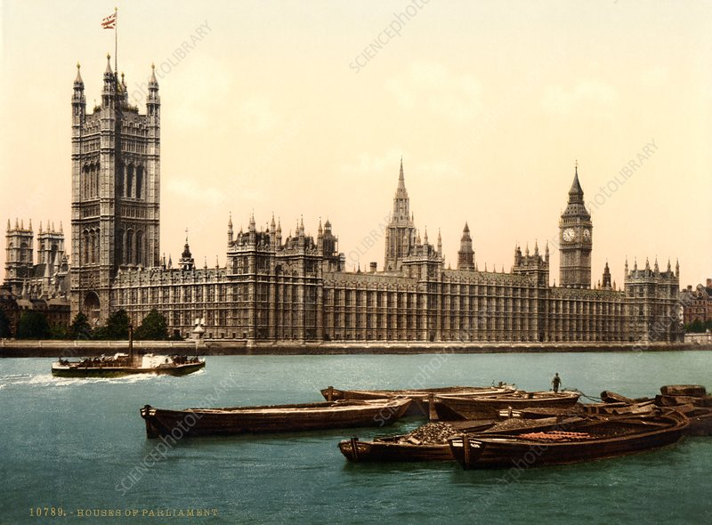 UK Houses of Parliament, 1890s