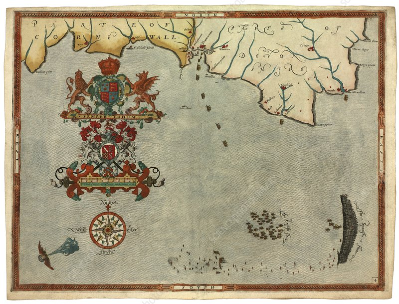 Spanish Armada, 31 July-1 August 1588