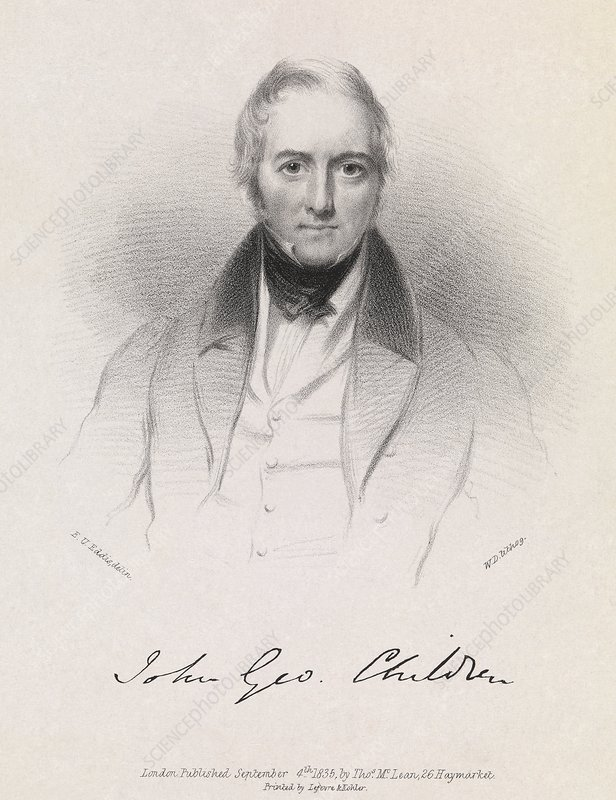 John Children, British chemist