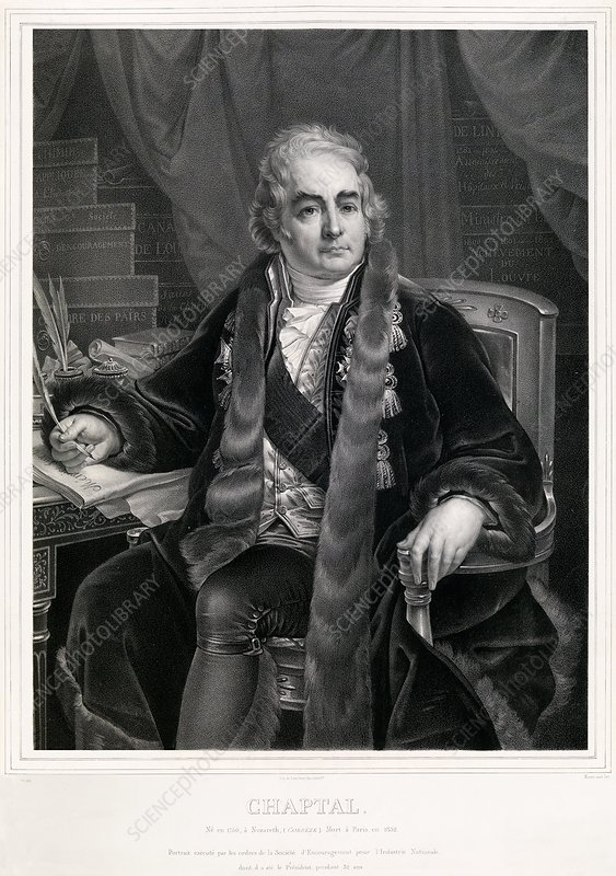 Jean-Antoine Chaptal, French chemist
