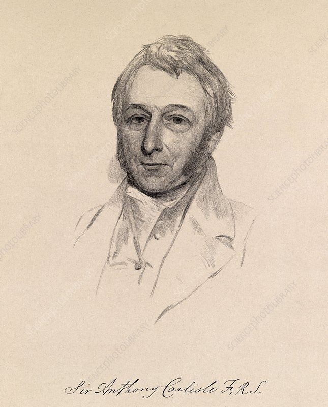 Sir Anthony Carlise, English surgeon