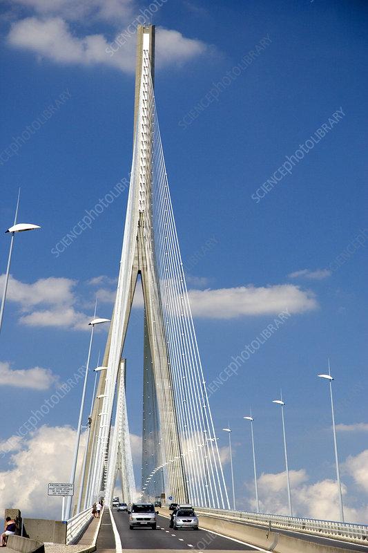 Pont de normandie france stock image c006 4680 - Haute normandie mobel ...