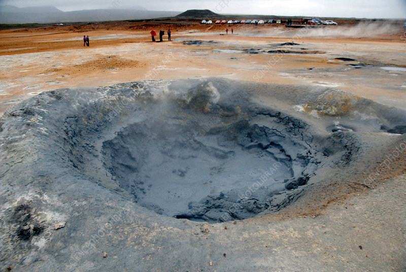 Icelandic Mud Pool