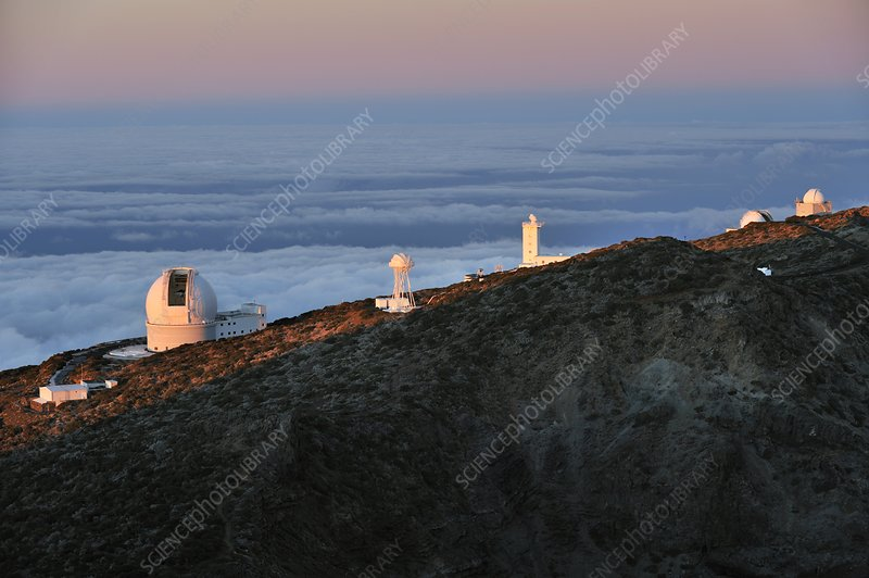 Telescopes, Canary Islands