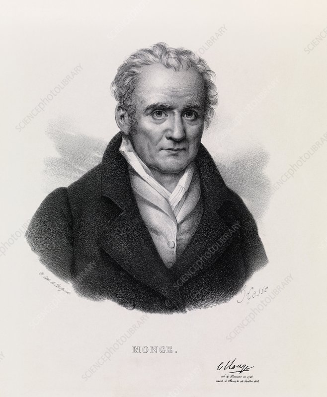 Gaspard Monge, French mathematician