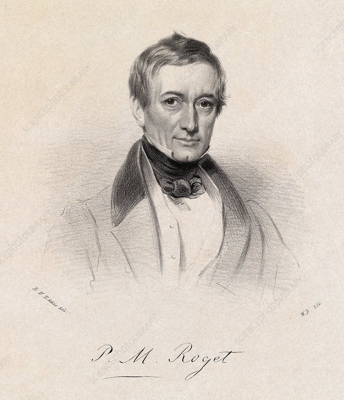 Peter Roget, English lexicographer